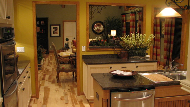 "EXTREME MAKEOVER HOME EDITION - ""Tipton-Smith Family,"" - Kitchen, on ""Extreme Makeover Home Edition,"" Sunday, March 11th on the ABC Television Network."