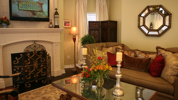 "EXTREME MAKEOVER HOME EDITION - ""Usea Family,"" -  Living Room, on ""Extreme Makeover Home Edition,"" Sunday, May 18th on the ABC Television Network."