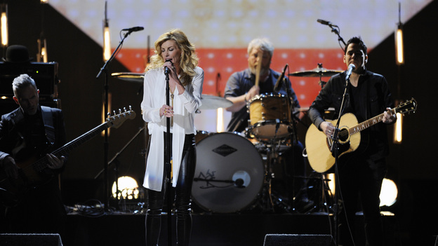 "THE 46TH ANNUAL CMA AWARDS - THEATRE - ""The 46th Annual CMA Awards"" airs live THURSDAY, NOVEMBER 1 (8:00-11:00 p.m., ET) on ABC live from the Bridgestone Arena in Nashville, Tennessee. (ABC/KATHERINE BOMBOY-THORNTON)FAITH HILL"