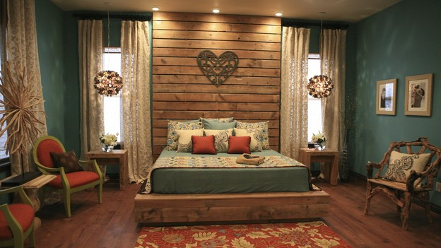 EXTREME MAKEOVER HOME EDITION - &quot;Skaggs Family,&quot; - Master Bedroom, on &quot;Extreme Makeover Home Edition,&quot; Sunday, March 14th on the ABC Television Network.