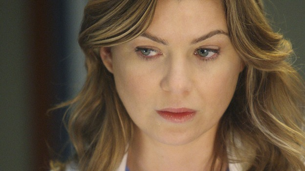 GREY'S ANATOMY - &quot;All By Myself&quot; - Dr. Meredith Grey, on &quot;Grey's Anatomy,&quot; THURSDAY, DECEMBER 4 (9:00-10:01 p.m., ET) on the ABC Television Network. (ABC/CRAIG SJODIN) ELLEN POMPEO