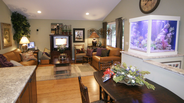 "EXTREME MAKEOVER HOME EDITION - ""Vardon Family,"" - Living Room, on ""Extreme Makeover Home Edition,"" Sunday, November 7th on the ABC Television Network."