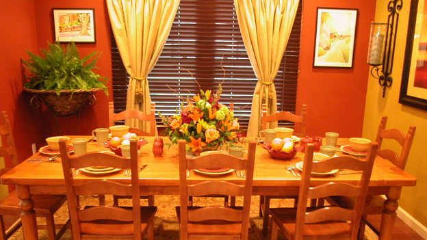 "EXTREME MAKEOVER HOME EDITION - ""Arena Family,"" - Dining Room, on ""Extreme Makeover Home Edition,"" Sunday, May 14th on the ABC Television Network."