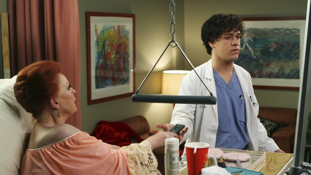 "GREY'S ANATOMY - ""Tell Me Sweet Little Lies"" (ABC/MICHAEL DESMOND)CAROLE COOK, T.R. KNIGHT"