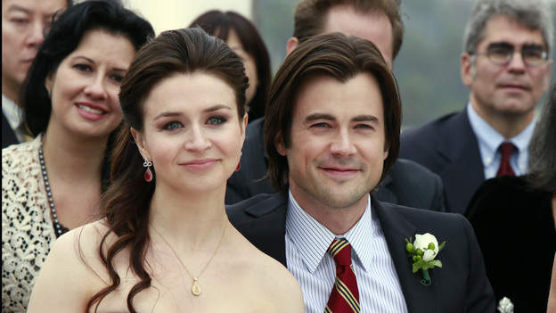 "PRIVATE PRACTICE - ""In Which We Say Goodbye"" - ABC's hit drama ""Private Practice"" will end its run with a special farewell to the beloved doctors of Seaside Health and Wellness. Naomi returns to stand by Addison's side on her wedding day, Cooper struggles with the hardships of being a stay-at-home father, and Violet begins a new project close to her heart, on the Series Finale of ""Private Practice,"" TUESDAY, JANUARY 22 (10:00-11:00 p.m., ET) on the ABC Television Network. (ABC/RON TOM)CATERINA SCORSONE, MATT LONG"