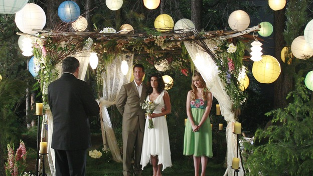DESPERATE HOUSEWIVES - &quot;Getting Married Today&quot; - Susan and Mike getting married. &quot; SUNDAY, MAY 20 (9:00-10:02 p.m., ET) on the ABC Television Network. (ABC/RON TOM) STEVE TYLER, JAMES DENTON, TERI HATCHER, ANDREA BOWEN