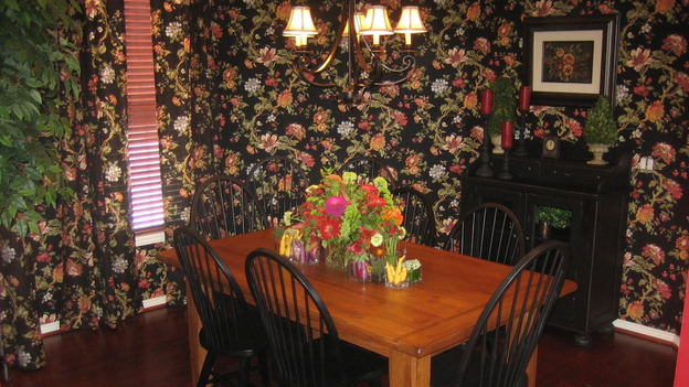"EXTREME MAKEOVER HOME EDITION - ""Gilliam Family,"" - Dining Room, on ""Extreme Makeover Home Edition,"" Sunday, October 1st on the ABC Television Network."