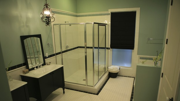 EXTREME MAKEOVER HOME EDITION - &quot;Heathcock Family,&quot; - Bathroom, on &quot;Extreme Makeover Home Edition,&quot; Sunday, March 21st on the ABC Television Network.