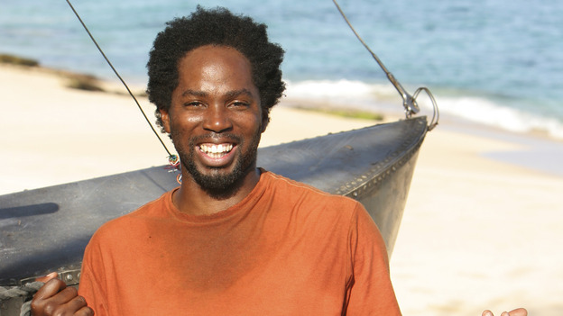 "102843_0050 -- LOST - ""Exodus, Part II"" (ABC/MARIO PEREZ)HAROLD PERRINEAU - BEHIND THE SCENES"