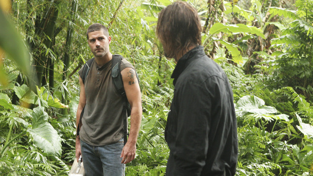 "LOST - ""Exodus"" - Jack and Sawyer, on ""Lost,"" on THURSDAY, MAY 18 on the ABC Television Network. (ABC/MARIO PEREZ) MATTHEW FOX, JOSH HOLLOWAY"