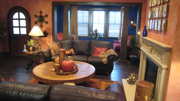 "EXTREME MAKEOVER HOME EDITION - ""Jacobo Family,"" - Living Room, on ""Extreme Makeover Home Edition,"" Sunday, May 13th on the ABC Television Network."