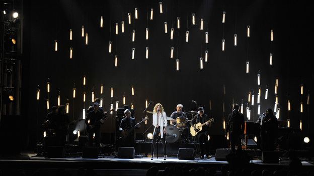 THE 46TH ANNUAL CMA AWARDS - THEATRE - &quot;The 46th Annual CMA Awards&quot; airs live THURSDAY, NOVEMBER 1 (8:00-11:00 p.m., ET) on ABC live from the Bridgestone Arena in Nashville, Tennessee. (ABC/KATHERINE BOMBOY-THORNTON)FAITH HILL