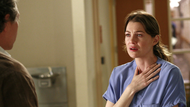 "GREY'S ANATOMY - ""The Other Side of This Life"" - Addison takes temporary leave from Seattle Grace and makes a road trip to Los Angeles in order to visit some old friends from medical school. As Meredith continues to bond with her stepmother, Susan, Cristina reluctantly plans her wedding with the assistance of her mother, Helen, and Burke's mother, Mama Jane. Meanwhile, Derek must perform  emergency surgery on Ava/Jane Doe, as Alex continues his unfailing bedside manner with her, on ""Grey's Anatomy,"" THURSDAY, MAY 3 (9:00-11:00 p.m., ET) on the ABC Television Network. (ABC/RON  TOM)JEFF PERRY, ELLEN POMPEO"