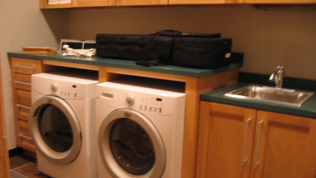 "EXTREME MAKEOVER HOME EDITION - ""Bliven Family,"" - Laundry Room, on ""Extreme Makeover Home Edition,"" Sunday, October 15th on the ABC Television Network."