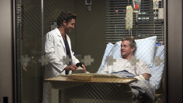 GREY'S ANATOMY - &quot;Remember the Time&quot; - (ABC/DANNY FELD)PATRICK DEMPSEY, ERIC DANE