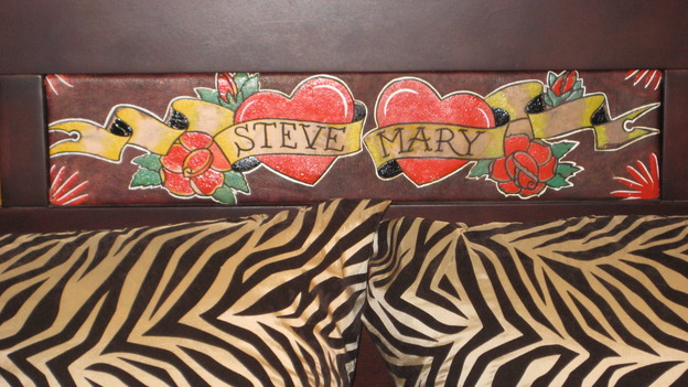 EXTREME MAKEOVER HOME EDITION - &quot;Boettcher Family,&quot; - Headboard Details, on &quot;Extreme Makeover Home Edition,&quot; Sunday, March 16th on the ABC Television Network.