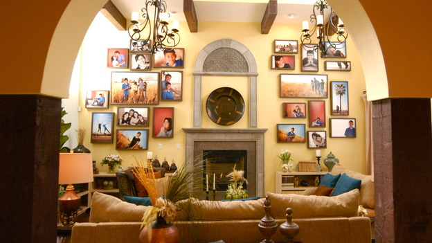 "EXTREME MAKEOVER HOME EDITION - ""Ruiz Family,"" - Living Room, on ""Extreme Makeover Home Edition,"" Sunday, March 15th on the ABC Television Network."