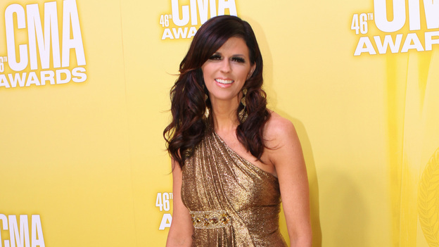 "THE 46TH ANNUAL CMA AWARDS - RED CARPET ARRIVALS - ""The 46th Annual CMA Awards"" airs live THURSDAY, NOVEMBER 1 (8:00-11:00 p.m., ET) on ABC live from the Bridgestone Arena in Nashville, Tennessee. (ABC/SARA KAUSS)KAREN FAIRCHILD OF LITTLE BIG TOWN"