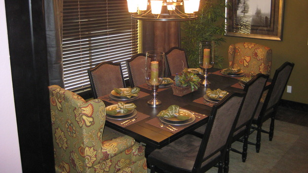 EXTREME MAKEOVER HOME EDITION - &quot;Boettcher Family,&quot; - Dining&nbsp;Room, on &quot;Extreme Makeover Home Edition,&quot; Sunday, March 16th on the ABC Television Network.