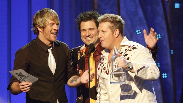 "THE 42ND ANNUAL CMA AWARDS - THEATRE - ""The 42nd Annual CMA Awards"" aired live from the Sommet Center in Nashville, WEDNESDAY, NOVEMBER 12 (8:00-11:00 p.m., ET) on the ABC Television Network. (ABC/CHRIS HOLLO)RASCAL FLATTS"