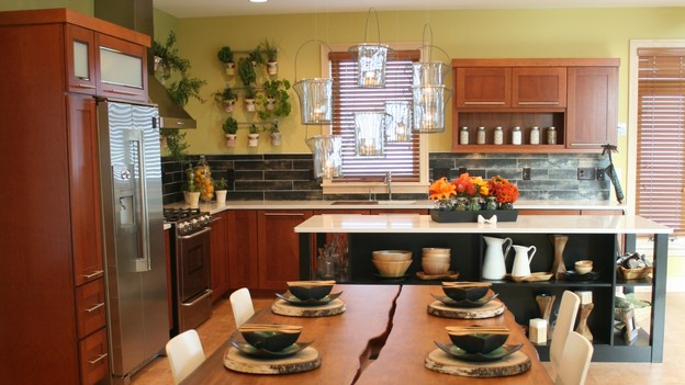 "EXTREME MAKEOVER HOME EDITION - ""Huber Family,"" - Dining Room, on ""Extreme Makeover Home Edition,"" Sunday, September 27th on the ABC Television Network."
