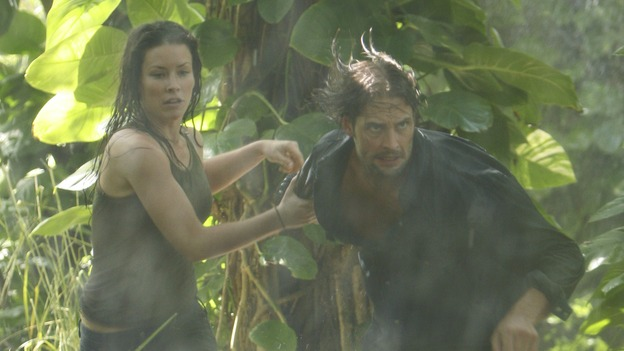 LOST - &quot;The Long Con&quot; (ABC/MARIO PEREZ)EVANGELINE LILLY, JOSH HOLLOWAY