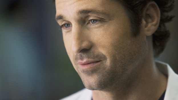 "GREY'S ANATOMY - ""These Ties That Bind"" - Dr. Derek Shepherd, on ""Grey's Anatomy,"" THURSDAY, NOVEMBER 13 (9:00-10:01 p.m., ET) on the ABC Television Network. (ABC/RANDY HOLMES) PATRICK DEMPSEY"