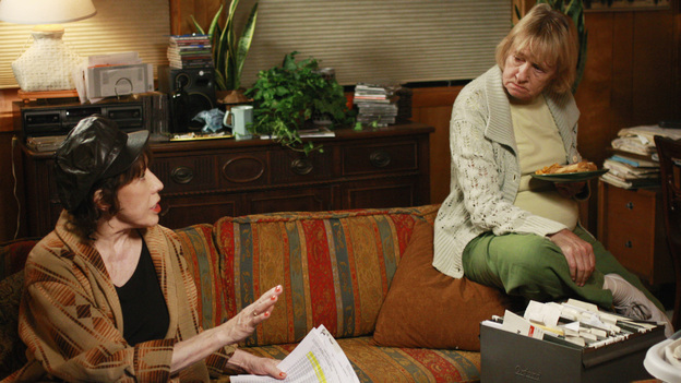 "DESPERATE HOUSEWIVES - ""What More Do I Need?"" - Mrs. McCluskey and her sister Roberta."