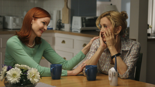 "DESPERATE HOUSEWIVES - ""CHILDREN WILL LISTEN "" (ABC/DANNY FELD) MARCIA CROSS, FELICITY HUFFMAN"