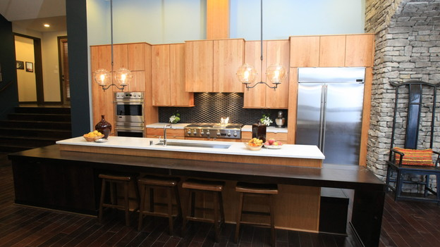 "EXTREME MAKEOVER HOME EDITION - ""Lampe Family,"" - Kitchen Picture,   on ""Extreme Makeover Home Edition,"" Sunday, January 9th (8:00-9:00 p.m.   ET/PT) on the ABC Television Network."