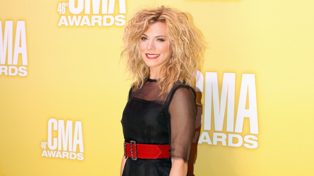 "THE 46TH ANNUAL CMA AWARDS - RED CARPET ARRIVALS - ""The 46th Annual CMA Awards"" airs live THURSDAY, NOVEMBER 1 (8:00-11:00 p.m., ET) on ABC live from the Bridgestone Arena in Nashville, Tennessee. (ABC/SARA KAUSS)KIMBERLY PERRY OF THE BAND PERRY"