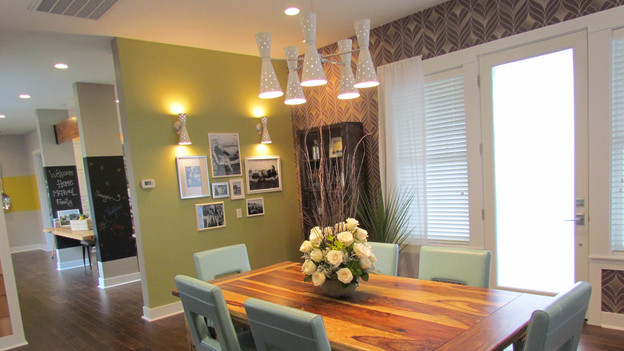"EXTREME MAKEOVER HOME EDITION - ""McPhail Family,"" - Dining Room Picture,           on   ""Extreme Makeover Home Edition,"" Friday, October 28th              (8:00-10:00   p.m.  ET/PT) on the ABC Television Network."