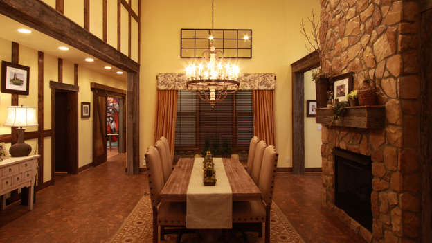 EXTREME MAKEOVER HOME EDITION - &quot;Sharrock Family,&quot; - Dining Room    Picture, on  &quot;Extreme Makeover Home Edition,&quot; Sunday, May 15th       (8:00-9:00 p.m.  ET/PT) on the ABC Television Network.