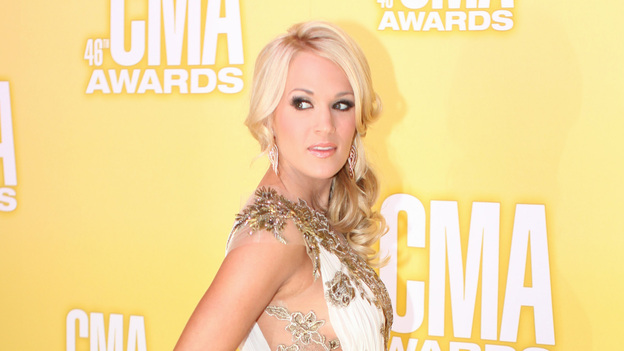 "THE 46TH ANNUAL CMA AWARDS - RED CARPET ARRIVALS - ""The 46th Annual CMA Awards"" airs live THURSDAY, NOVEMBER 1 (8:00-11:00 p.m., ET) on ABC live from the Bridgestone Arena in Nashville, Tennessee. (ABC/SARA KAUSS)CARRIE UNDERWOOD"