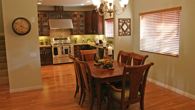 "EXTREME MAKEOVER HOME EDITION - ""Anderson Family,"" - Dining Room, on ""Extreme Makeover Home Edition,"" Sunday, January 16th on the ABC Television Network."