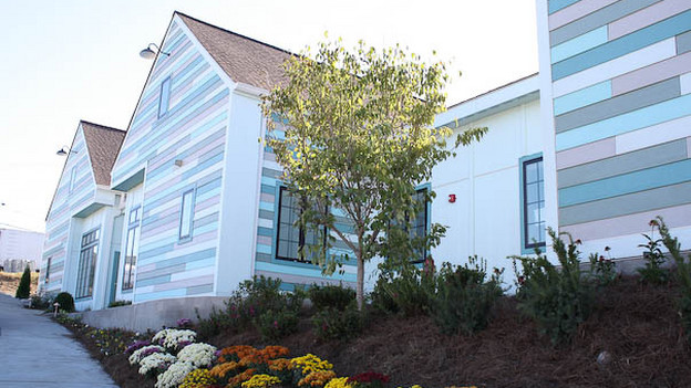 "EXTREME MAKEOVER HOME EDITION - ""Lighthouse School/Sweatt Family,"" - Exterior   Picture, on ""Extreme Makeover Home Edition,"" Sunday, November 14th     (8:00-9:00 p.m. ET/PT) on the ABC Television Network."