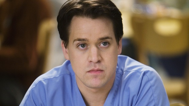 "GREY'S ANATOMY - ""Beat Your Heart Out"" - George suspects something is wrong with Izzie, on ""Grey's Anatomy,"" THURSDAY, FEBRUARY 5 (9:00-10:02 p.m., ET) on the ABC Television Network. (ABC/RANDY HOLMES) T.R. KNIGHT"