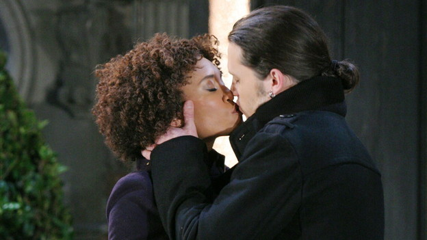 Annie Ilonzeh and nathan parsons