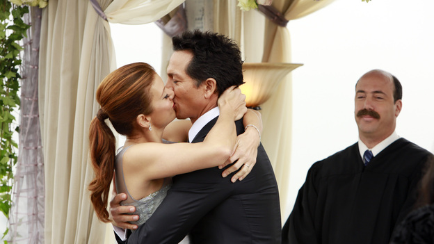 "PRIVATE PRACTICE - ""In Which We Say Goodbye"" - ABC's hit drama ""Private Practice"" will end its run with a special farewell to the beloved doctors of Seaside Health and Wellness. Naomi returns to stand by Addison's side on her wedding day, Cooper struggles with the hardships of being a stay-at-home father, and Violet begins a new project close to her heart, on the Series Finale of ""Private Practice,"" TUESDAY, JANUARY 22 (10:00-11:00 p.m., ET) on the ABC Television Network. (ABC/RON TOM)KATE WALSH, BENJAMIN BRATT, KEVIN KOSTER"