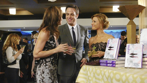 "PRIVATE PRACTICE - ""Tempting Faith"" - Addison receives a surprise visit from her brother and fellow surgeon, Archer, and his presence not only causes trouble for her, but for Naomi and Sam as well. Meanwhile Meg returns to try to make it work with Pete, and a patient accused of a malicious crime stirs up anger and emotions, for both Violet and Dell, on ""Private Practice,"" WEDNESDAY, NOVEMBER 26 (9:00-10:01 p.m., ET) on the ABC Television Network. (ABC/RICHARD CARTWRIGHT)AUDRA MCDONALD, PAUL ADELSTEIN, KADEE STRICKLAND"