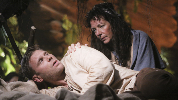 "LOST - ""Across the Sea"" - The motives of John Locke are finally explained, on ""Lost,"" TUESDAY, MAY 11 (9:00-10:00 p.m., ET) on the ABC Television Network. (ABC/MARIO PEREZ)MARK PELLEGRINO, ALLISON JANNEY"