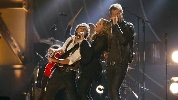 "THE 42ND ANNUAL CMA AWARDS - THEATRE - ""The 42nd Annual CMA Awards"" aired live from the Sommet Center in Nashville, WEDNESDAY, NOVEMBER 12 (8:00-11:00 p.m., ET) on the ABC Television Network. (ABC/CHRIS HOLLO)LADY ANTEBELLUM"