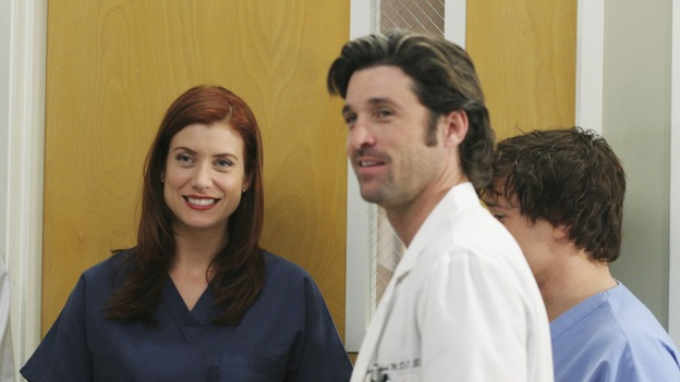 "GREY'S ANATOMY - ""It's the End of the World (As We Know It)""(ABC/KAREN NEAL)KATE WALSH, PATRICK DEMPSEY, T.R. KNIGHT"