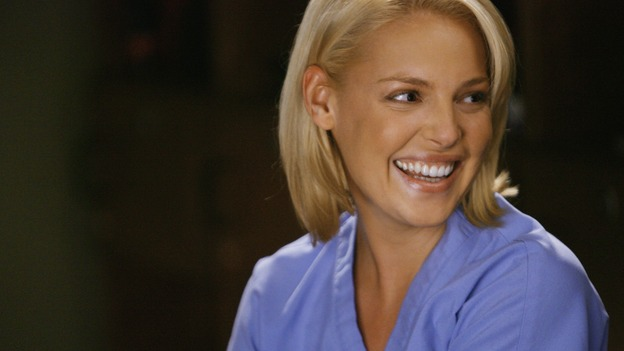 GREY'S ANATOMY - &quot;Rise Up&quot; - Dr. Izzie Stevens, on &quot;Grey's Anatomy,&quot; THURSDAY, NOVEMBER 6 (9:00-10:01 p.m., ET) on the ABC Television Network. (ABC/SCOTT GARFIELD) KATHERINE HEIGL