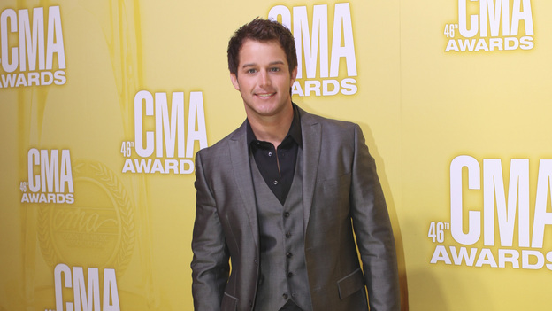 "THE 46TH ANNUAL CMA AWARDS - RED CARPET ARRIVALS - ""The 46th Annual CMA Awards"" airs live THURSDAY, NOVEMBER 1 (8:00-11:00 p.m., ET) on ABC live from the Bridgestone Arena in Nashville, Tennessee. (ABC/SARA KAUSS)EASTON CORBIN"