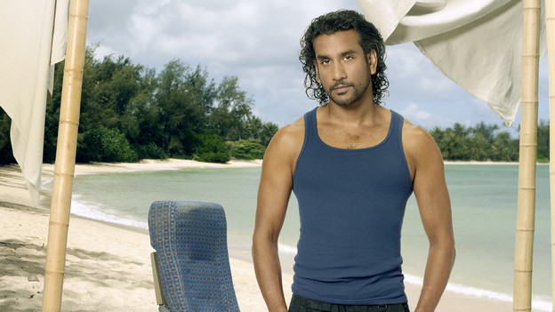 "LOST - ABC's ""Lost"" stars Naveen Andrews as Sayid. (ABC/BOB D'AMICO)"
