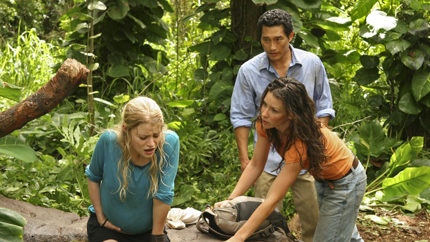 "102424_2229 -- LOST - ""Do No Harm"" - (ABC/MARIO PEREZ)EMILIE DE RAVIN, EVANGELINE LILLY, DANIEL DAE KIM"