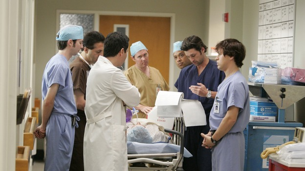 103277_6151 -- GREY'S ANATOMY - (ABC/CRAIG SJODIN)PATRICK DEMPSEY, T.R. KNIGHT