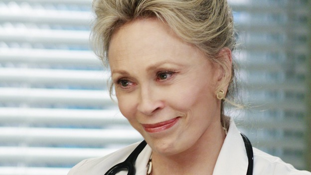 GREY'S ANATOMY - &quot;An Honest Mistake&quot; - Dr. Margaret Campbell, a legend at Seattle Grace Hospital, on &quot;Grey's Anatomy,&quot; THURSDAY, FEBRUARY 19 (9:00-10:02 p.m., ET) on the ABC Television Network. (ABC/RON TOM) FAYE DUNAWAY