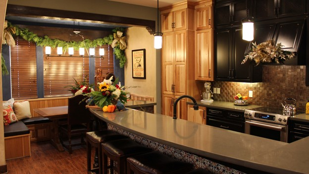 "EXTREME MAKEOVER HOME EDITION - Kitchen Photo, ""Harris Family,"" on ""Extreme Makeover Home Edition,"" Monday, December 10th (8:00-10:00 p.m. ET/PT) on the ABC Television Network."